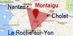 Carte localisation montaigu