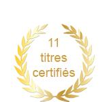 Titres certifies