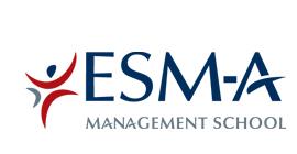 logo ESM-A école supérieure de commerce et de management en alternance